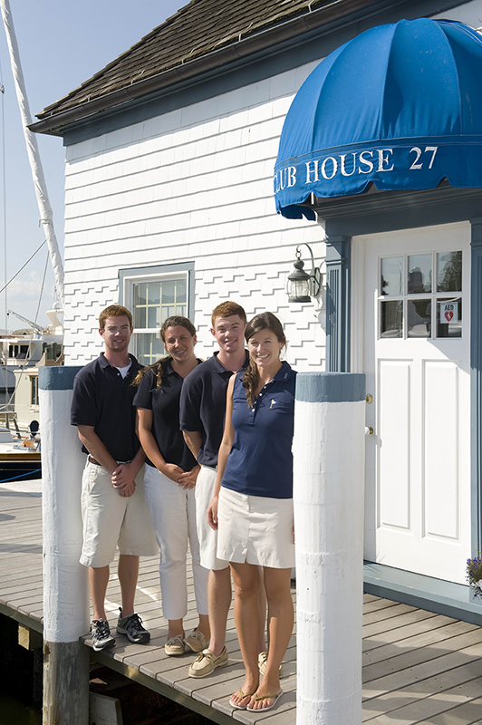 Sag Harbor Yacht Club Dock Staff