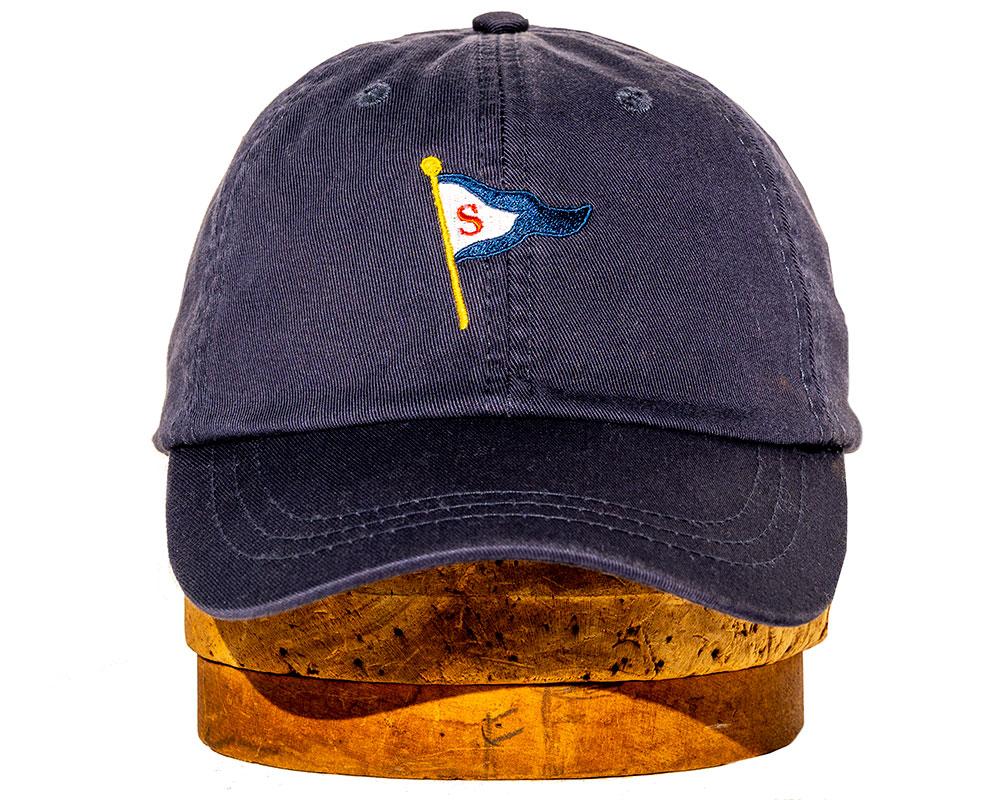 Navy soft cap
